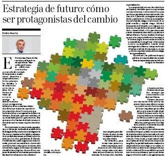 Estrategia de futuro: cómo ser protagonistas del cambio  Diario de Navarra | Emilio Huerta, miembro de Institución Futuro