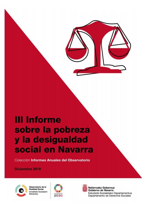 III Informe sobre la pobreza y la desigualdad social en Navarra  Observatorio de la Realidad Social. Gobierno de Navarra