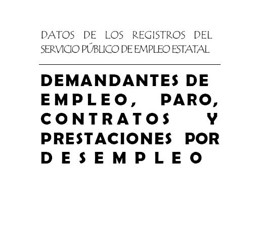 Parados registrados en las oficinas de los Servicios Públicos de Empleo. Diciembre 2019  Ministerio de Trabajo