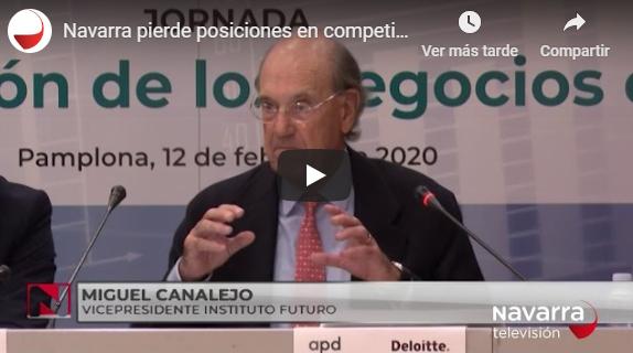Navarra pierde posiciones en competitividad regional  Navarra Televisión