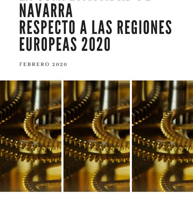 """Vídeo: """"Análisis comparado de la competitividad de Navarra respecto a las regiones europeas 2020"""""""