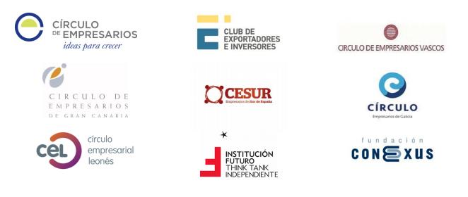 Las empresas necesitan libertad y apoyo para afrontar la recuperación  Declaración institucional de Institución Futuro junto con otras organizaciones empresariales de España