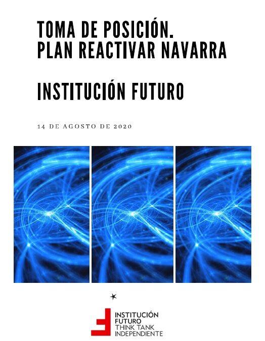 Toma de posición. Plan Reactivar Navarra  Presentada el 14 de agosto de 2020