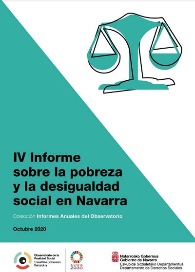 IV Informe sobre la pobreza y la desigualdad social en Navarra  Observatorio de la Realidad Social. Gobierno de Navarra