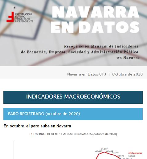 Navarra en Datos 013  |  Octubre 2020  Institución Futuro