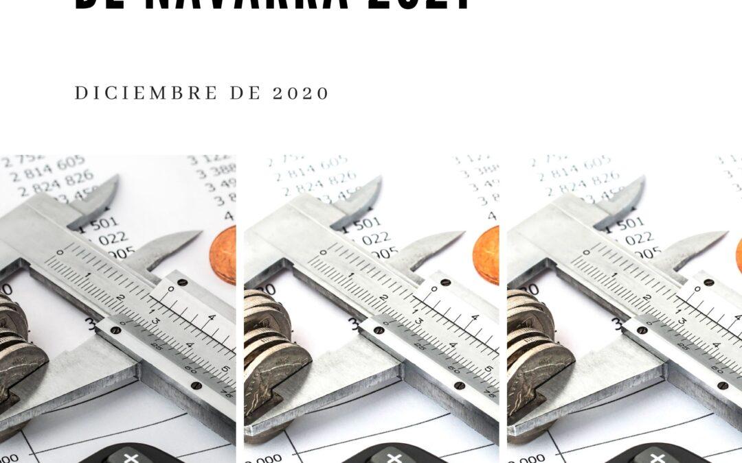 Comentario crítico a los Presupuestos Generales de Navarra 2021  Presentado el 2 de diciembre de 2020