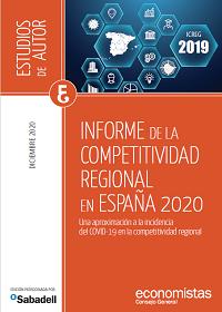 Informe de la Competitividad Regional en España 2020  Consejo General de Economistas