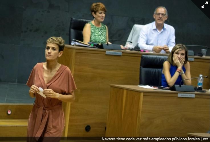 Navarra se acerca a Extremadura en el ranking de CCAA con más empleados autonómicos  Libremercado.com