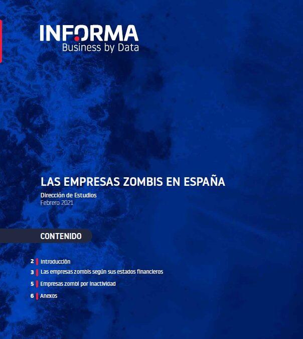 Las empresas zombis en España  INFORMA Business by Data