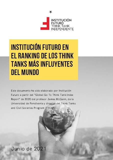 Institución Futuro en el Ranking 2020 de los think tanks más influyentes del mundo