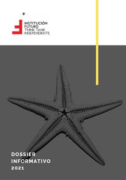 Dossier informativo 2021 de Institución Futuro