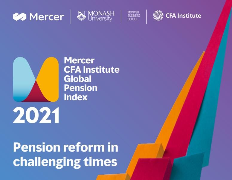 Índice Global de Pensiones de Mercer CFA 2021  Mercer