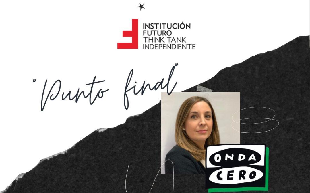 Ana Yerro, directora de Institución Futuro, sobre la fiscalidad navarra  Onda Cero Navarra