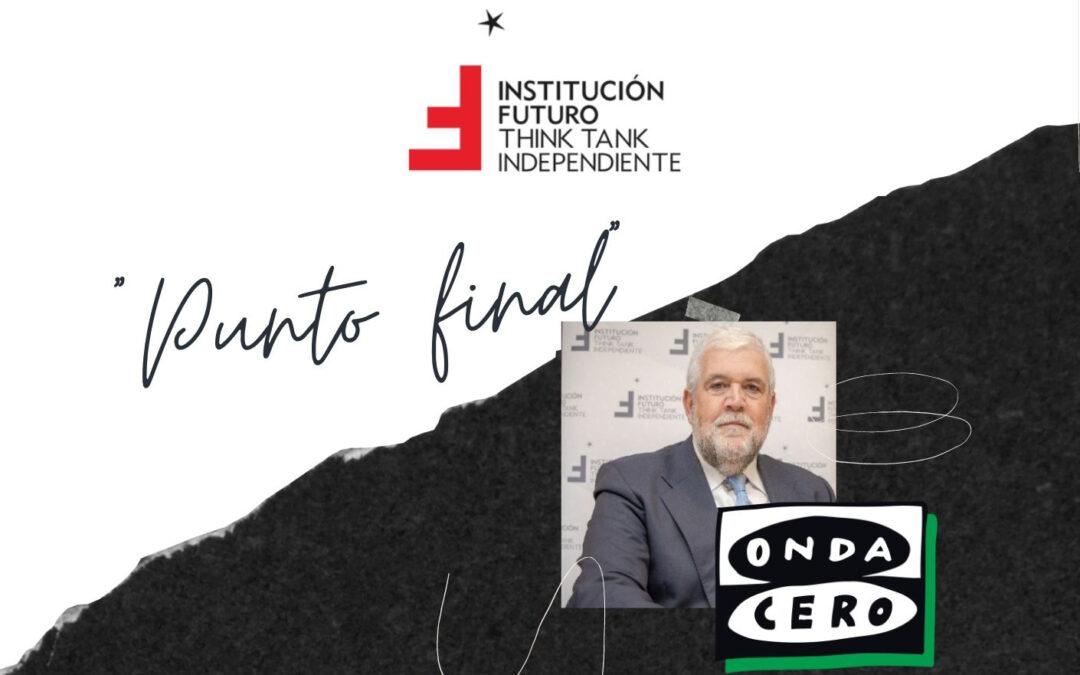 José María Aracama, presidente de Institución Futuro, sobre las reformas estructurales que el país necesita  Onda Cero Navarra